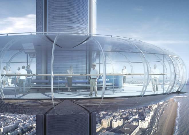 В Брайтоне построили самую высокую смотровую башню British Airways i360
