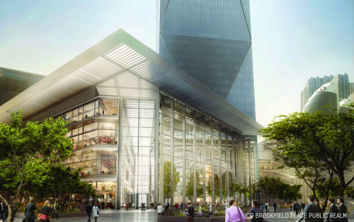 В Дубае начали строительство зеркального небоскреба ICD Brookfield Place