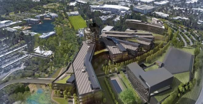 Новая штаб-квартира Nike площадью 3.2 миллиона квадратных футов