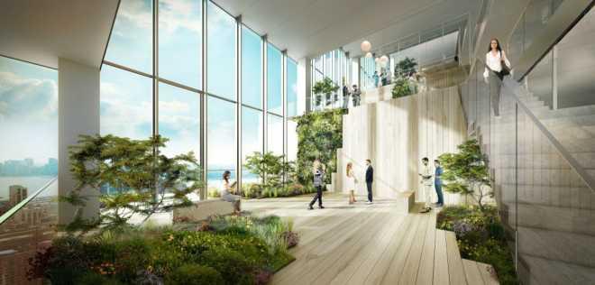 Bjarke Ingels спроектировал спиральный офисный небоскреб в Нью-Йорке