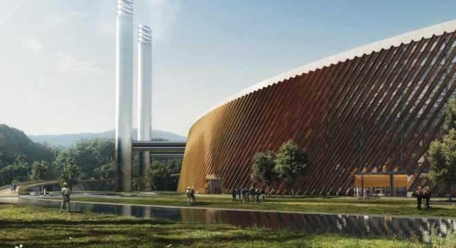 Датские архитекторы выиграли конкурс на лучший проект самого большого в мире завода по переработке отходов
