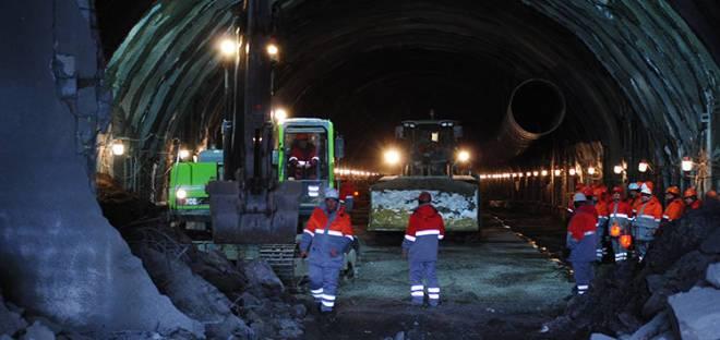 Украина становится все ближе к Европе благодаря тоннелю под Карпатскими горами