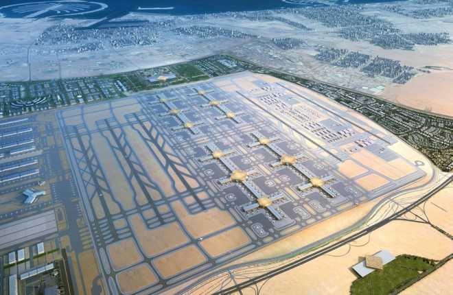 Один из аэропортов Дубая к 2020 году увеличит пассажиропоток до 225 миллионов человек