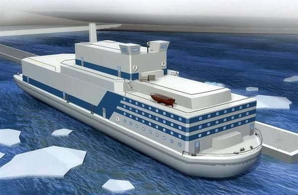 В Китае строят комплекс плавучих атомных электростанций