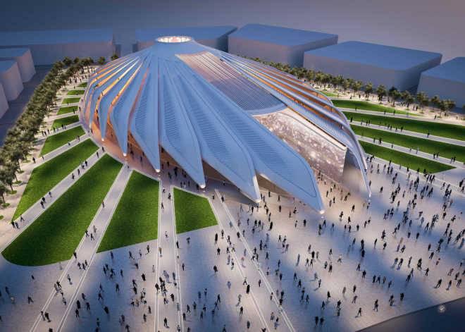 Сантьяго Калатрава проектирует павильон ОАЭ для Dubai World Expo 2020