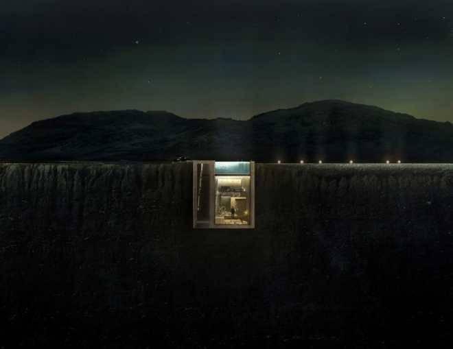 В Ливане будет построен дом, вписанный в скалу