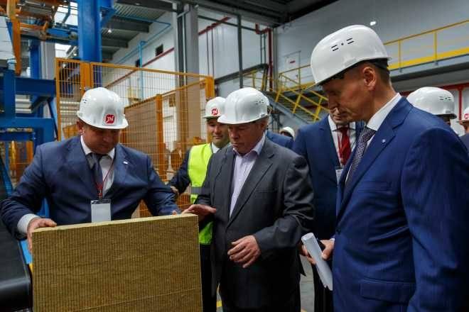 Завершились строительные работы на производстве каменной ваты ТехноНИКОЛЬ в Ростовской области