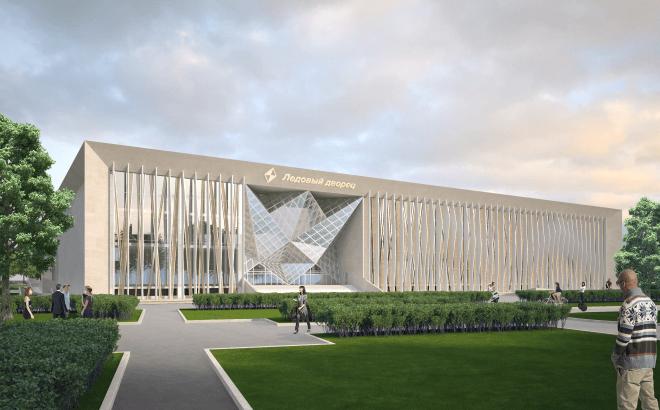 Концепция ледового дворца «Кристалл» была одобрена Архитектурным советом Москвы