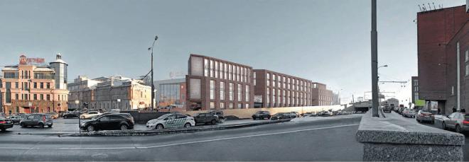 У метро Таганская построят многофункциональный комплекс по проекту – лауреату «Золотого сечения»