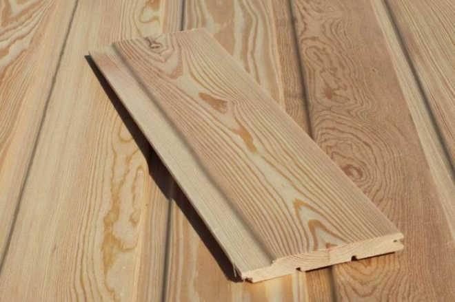 Вагонка-штиль из лиственницы от производителя высокого качества