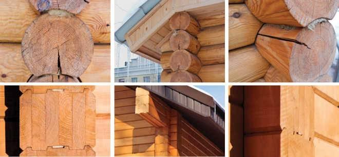 Бревно или брус – что выбрать для постройки дома?