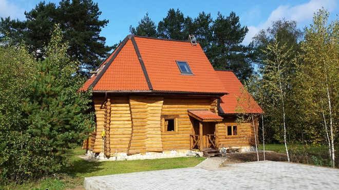Технологии строительствоа деревянных дома из оцилиндрованного бревна
