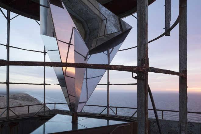 Датские архитекторы превратят умирающий маяк в произведение искусства