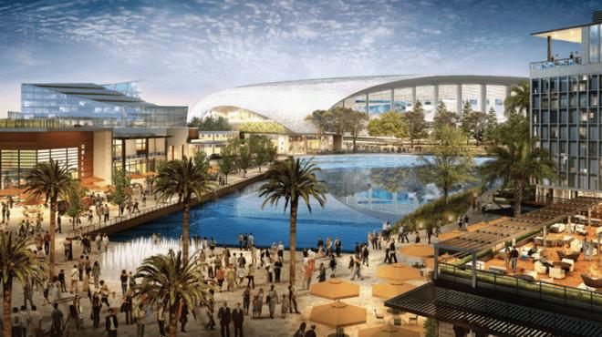 Aecom и Turner будут контролировать строительство стадиона на 70 тысяч мест в Лос-Анджелесе
