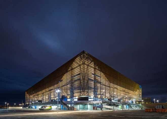 Гандбольная арена в Рио после Олимпийских игр превратится в четыре школы