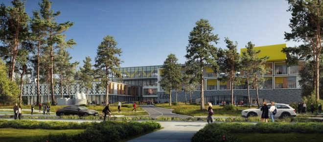 Архитекторы C.F. Møller представили дизайн штаб-квартиры Lego в Дании