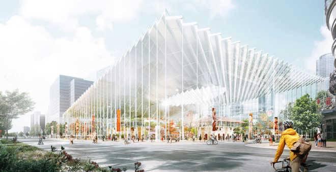 Австралийские архитекторы преобразят один из районов Шанхая