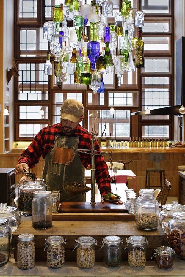 Паб Kamikatz в Токусиме, Япония