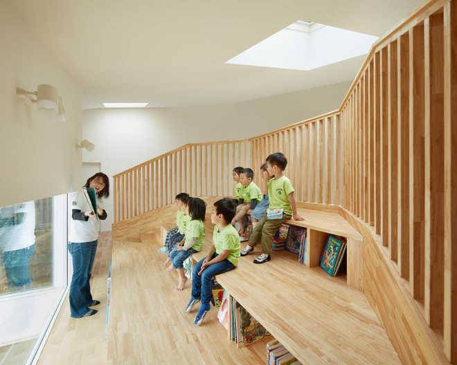 Причудливый детский сад от MAD Architects
