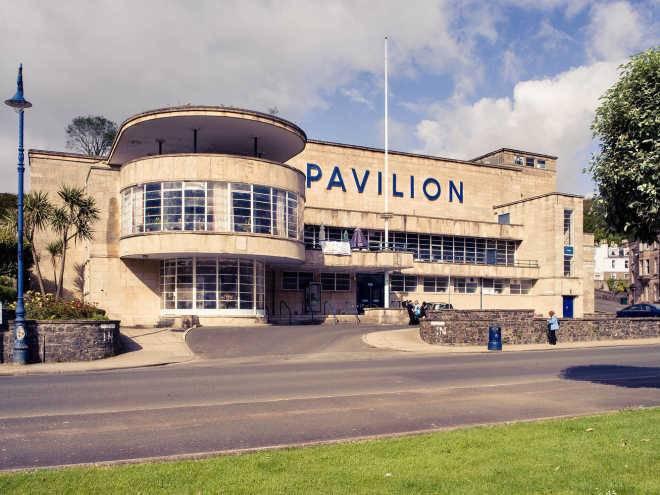 1938 - Павильон Ротсей, Ротсей, остров Бьют