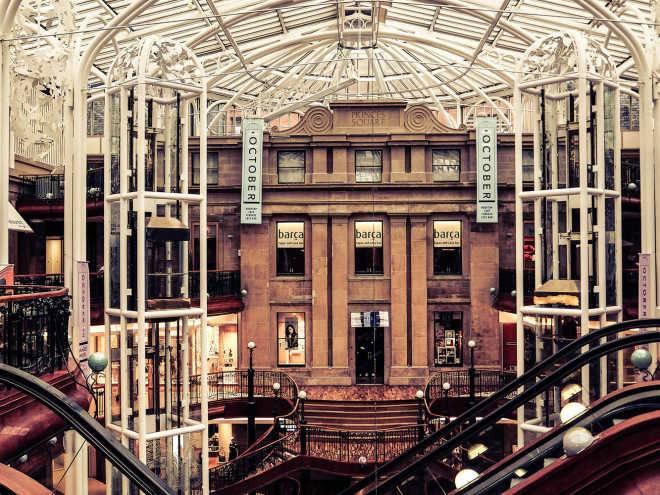1987 - Princes Square, Глазго
