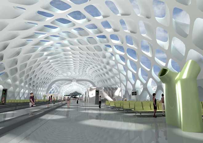 Шэньчжэньский международный аэропорт Baoan - Терминал 3 (Хуантянь, Китай)