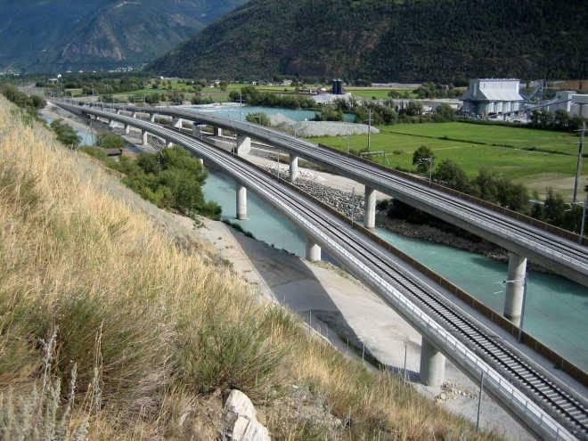 Базисный туннель Лётчберг, Швейцария