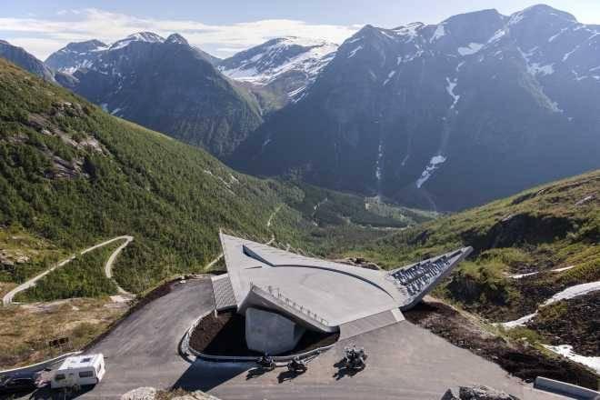 Смотровая площадка Utsikten в Норвегии / CODE: arkitektur