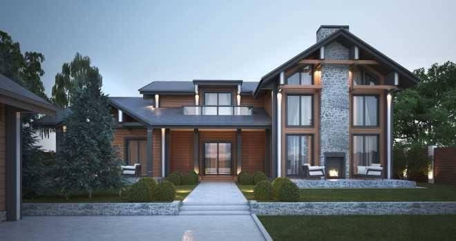 Дом в стиле шале – жизнь в стиле eco-friendly