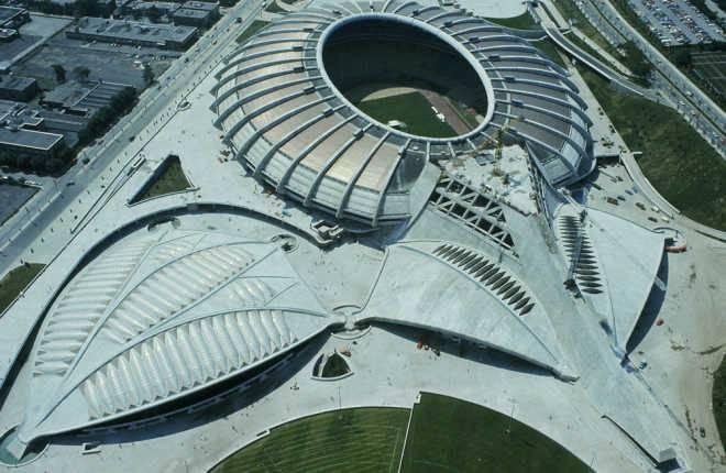 Олимпийский стадион Монреаль