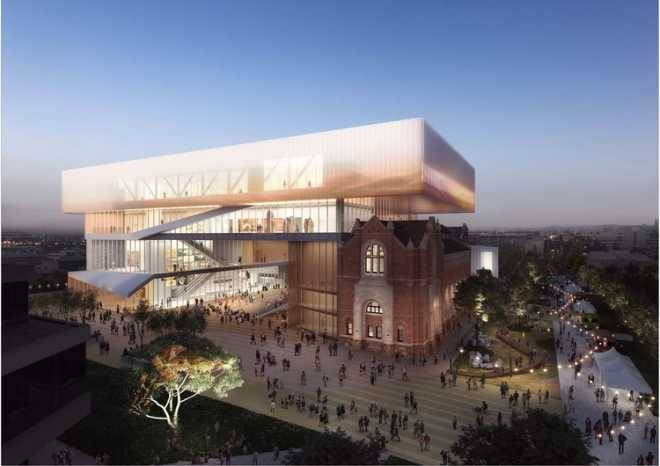 Hassell и OMA работают над новым музеем для Западной Австралии