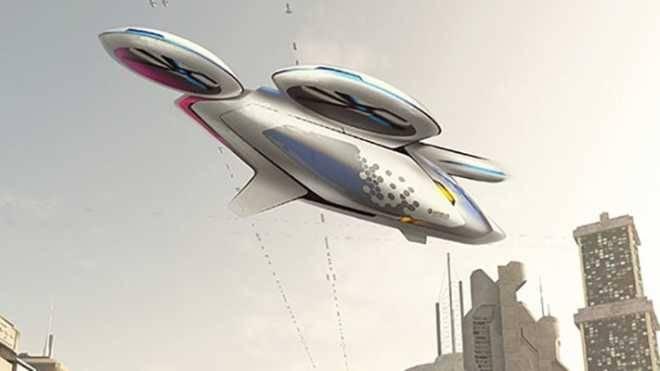 Так будет выглядеть беспилотное летающее такси CityAirbus