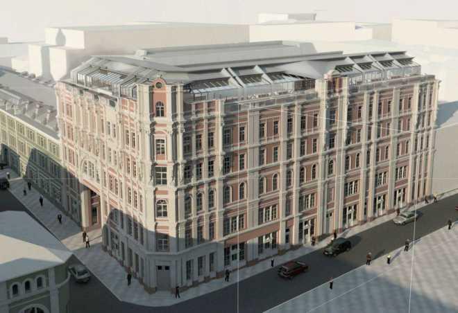 Два доходных дома в ЦАО станут гостиничным комплексом