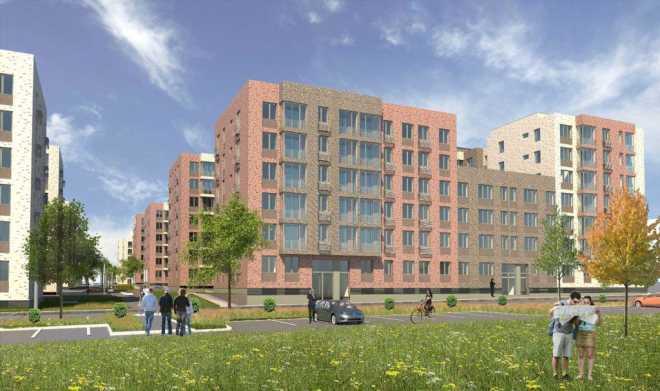 Проект малоэтажного жилого квартала в Новой Москве утвержден Москомархитектурой