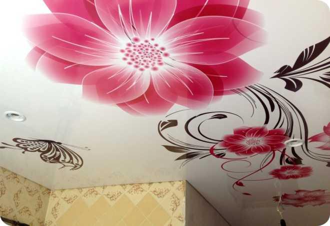 Натяжные потолки для кухонь