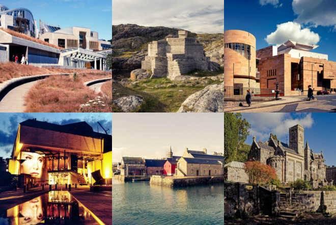 Названы 10 лучших зданий Шотландии за последние 100 лет