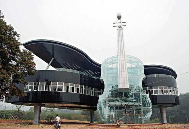 Здание-рояль (Хуайнань, Китай)