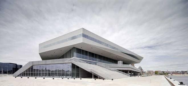 Dokk1, построенная по проекту Schmidt Hammer Lassen Architects, признана лучшей библиотекой 2016