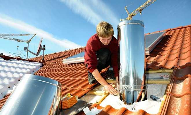 Дымоходы: виды, материал для теплоизоляции и монтаж