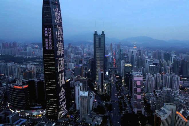 Стремительно растущий Шэньжэнь планирует возвести самый высокий небоскреб в Китае