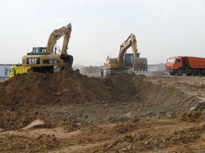 Земляные работы в СПб