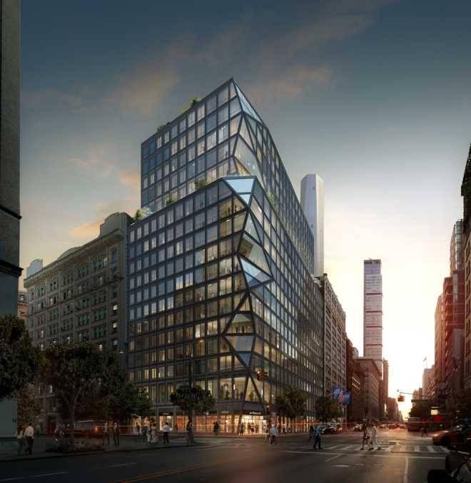 OMA представила свою первую жилую высотку для Нью-Йорк