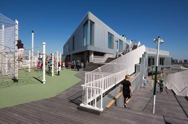 Школа South Harbour в Копенгагене — победитель конкурса WAN Awards в категории «Образование 2016»