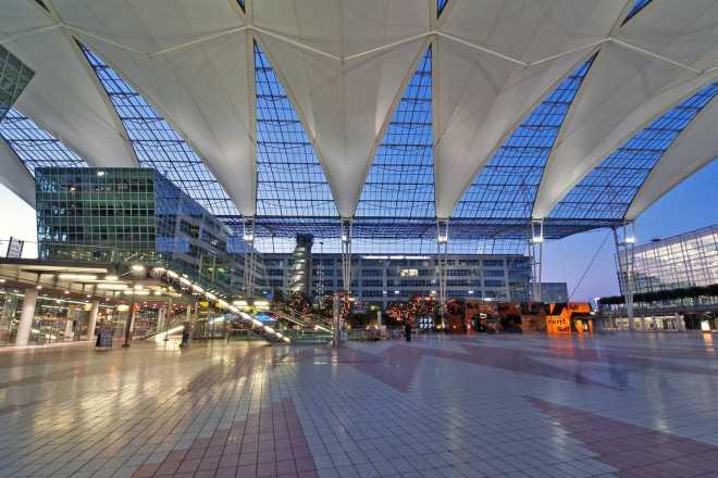 Аэропорт Мюнхена, Германия