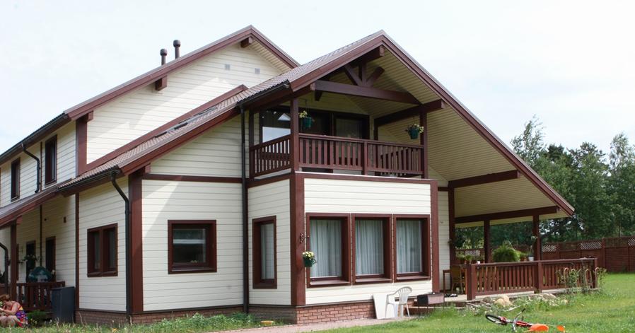Каркасный дом на УШП под ключ для постоянного проживания