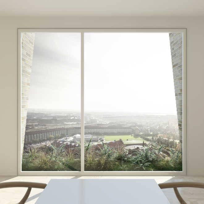 Проект башни с висячими садами, созданный студией LOKAL, победил в копенгагенском конкурсе жилых зданий