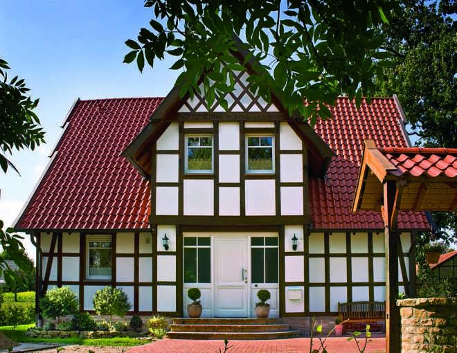 Клинкерная черепица – защита для крыши дома может быть красивой
