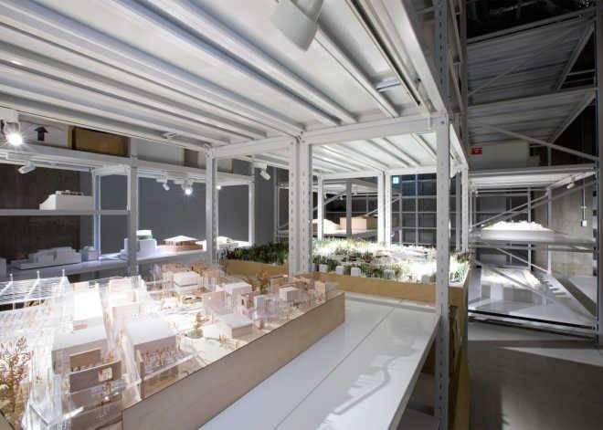 Музей архитектурных моделей в Токио