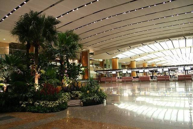 Аэропорт Чанги (Changi), Сингапур