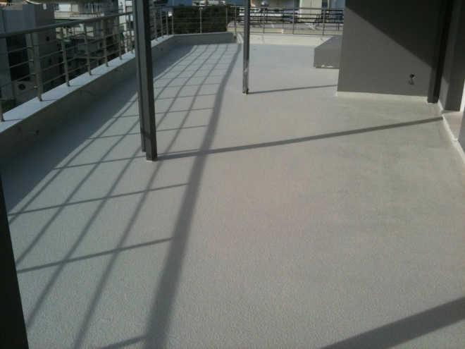 гидроизоляцию открытого балкона